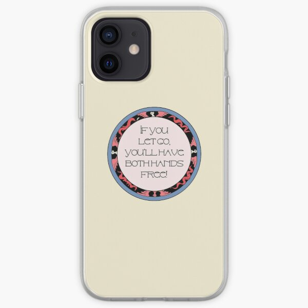 Letting go and moving on.  Quote iPhone Soft Case