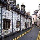 Almshouses - Llanrwst by Trevor Kersley