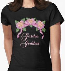 Garden Goddess Women's Fitted T-Shirt