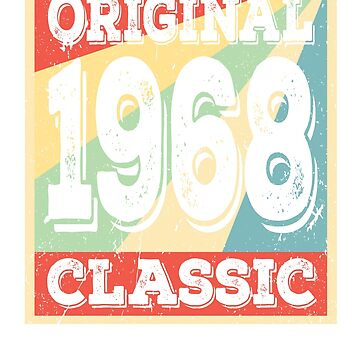 Original 1968 Classic Birthday Gift by prosperousjewel