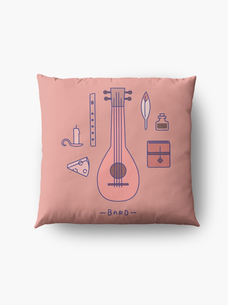 Alternate view of The Bard Floor Pillow