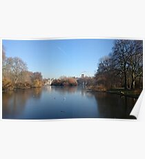 London City from St. James Park Poster