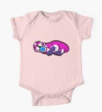 Sleepy Puppy Shocking Pink and Blue Kids Clothes