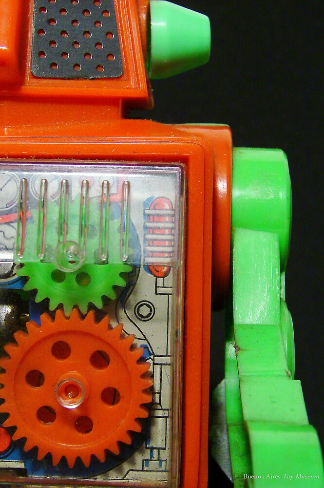 Toy Robot Pucky by Bob Frassinetti