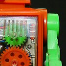 Toy Robot Pucky by Bob Frassinetti