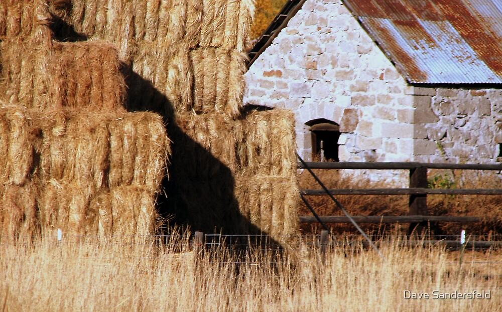 Mt Vernon, Oregon - Stone Home by Dave Sandersfeld