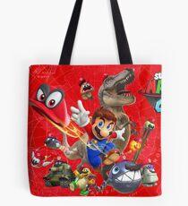 Super Mario Odyssey Poster Tote Bag