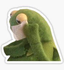 SAD KERMIT CRYING MEME! Sticker