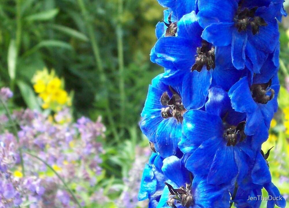 Blue Flower by JenTheDuck