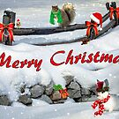 Whimsical Christmas Scene by CarolM