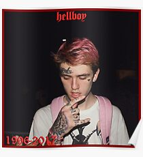 LIL PEEP (REST IN PEACE)  Poster