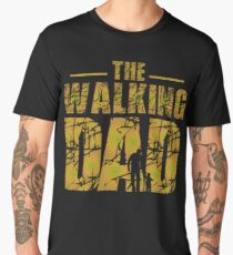 The Walking Dad - Zombie Father's Gift Men's Premium T-Shirt