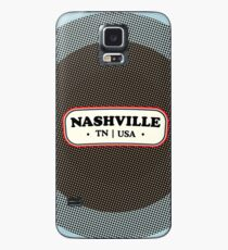 Nashville   Retro Badge Case/Skin for Samsung Galaxy