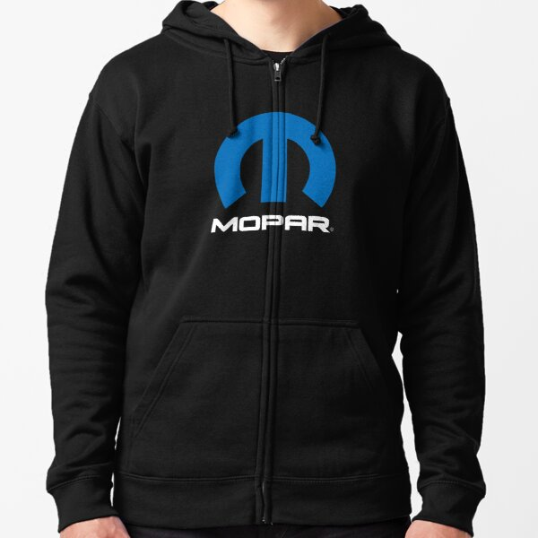 Mopar Logo Zipped Hoodie