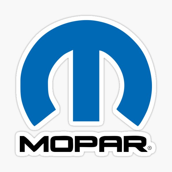 Mopar Logo Sticker