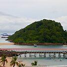 Isla Taboga View by Barbara  Brown