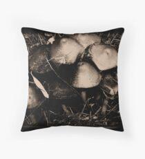 Agaricus Campestris Throw Pillow