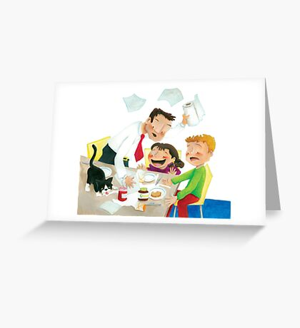 The river of milk Greeting Card