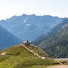 Church in Gran Paradiso by pietrofoto