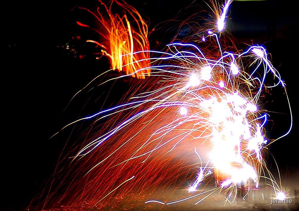 fireworks by jeramie