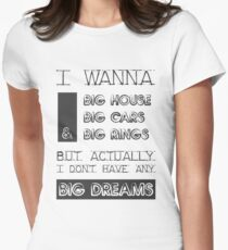 BTS - NO MORE DREAM Womens Fitted T-Shirt