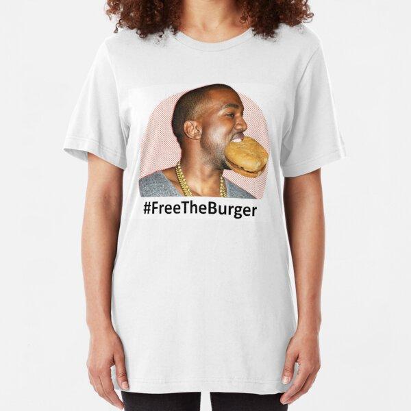 #Free The Burger  Slim Fit T-Shirt