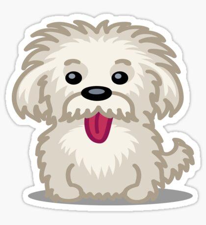 Shihtzu Shitzu dog tshirt - Dog Gifts for Shihtzu and Maltese Dog Lovers Sticker