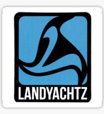 Landyachtz Logo Blue Sticker