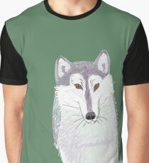 Totem canadian wolf (pair) Graphic T-Shirt