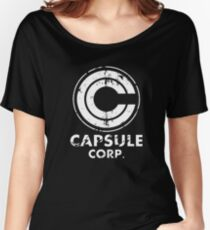 Cool Capsule Corp Shirt – DBZ Shirt – Unique Dragonball Z Shirt (Perfect DBZ Gift for Xmas) – Classic t Shirt - Unique Dragonball Z Shirts Women's Relaxed Fit T-Shirt