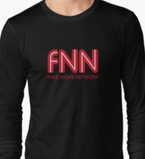 FNN fake news network Funny logo School Student Shirt Long Sleeve T-Shirt