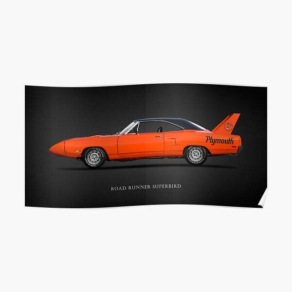 The Road Runner Superbird Poster