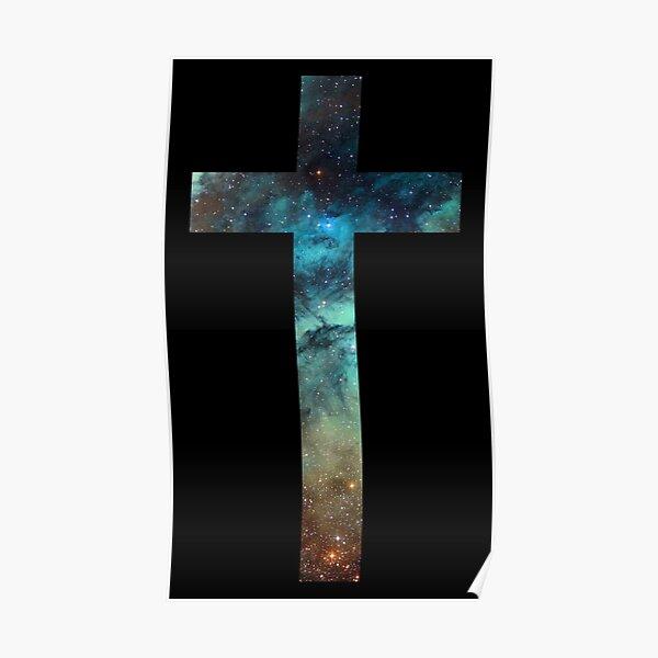 Christian Cross Poster