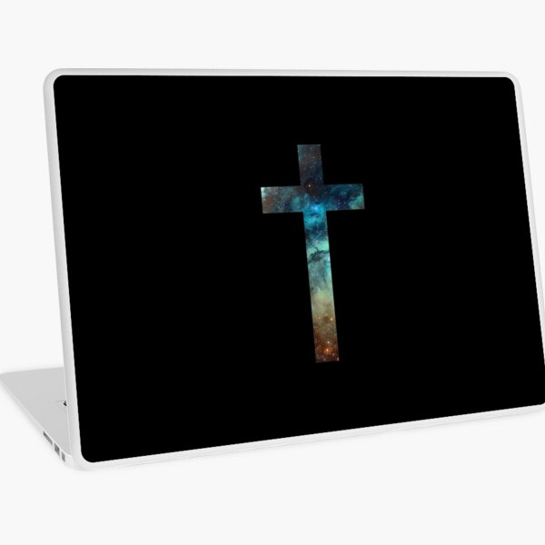 Christian Cross Laptop Skin