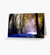 Let Your Light Shine, Down On Me Greeting Card