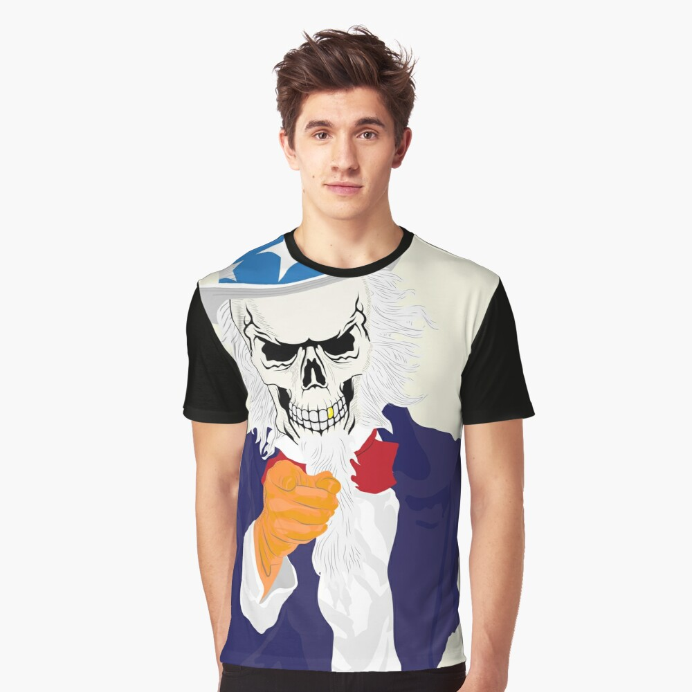 Uncle Reaper Graphic T-Shirt Front