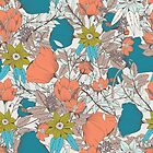 Botanical pattern 011 by BlueLela