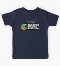 Camiseta para niños Estado alrededor del bloque - camisa de Minecraft