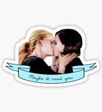 Swan Queen Version 3 Sticker