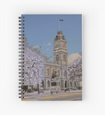 Ballarat Town Hall Spiral Notebook