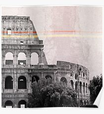 Colosseum Rome Italy Poster