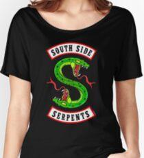 Serpents du côté sud T-shirts coupe relax