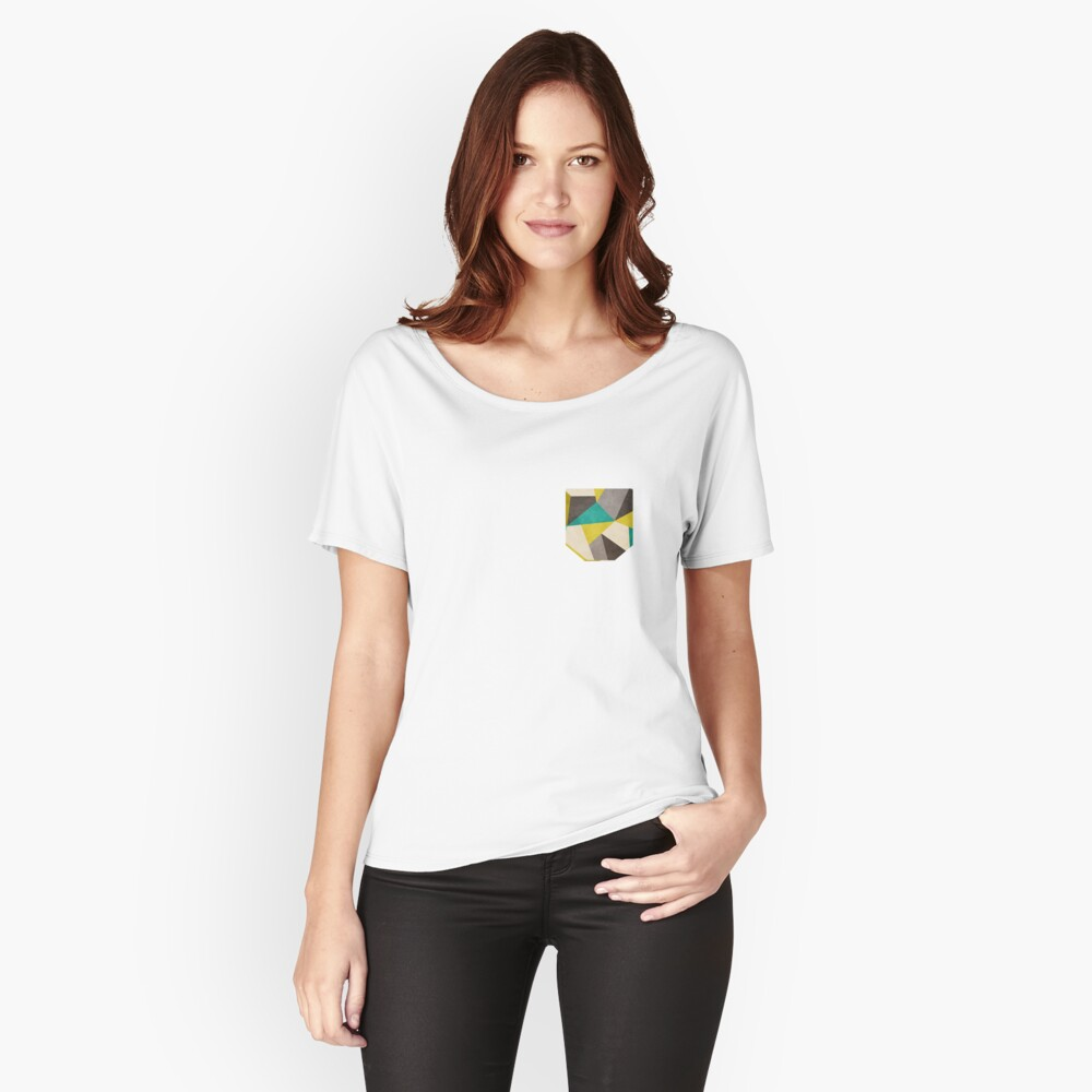 Polygons Relaxed Fit T-Shirt