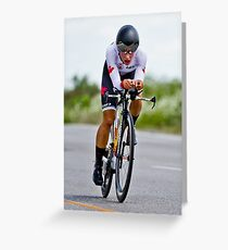 Womens Individual Time Trial No 5 Greeting Card