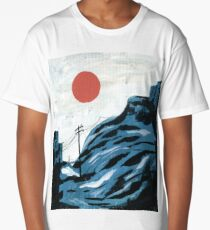 Watching the Impending Sunset Long T-Shirt