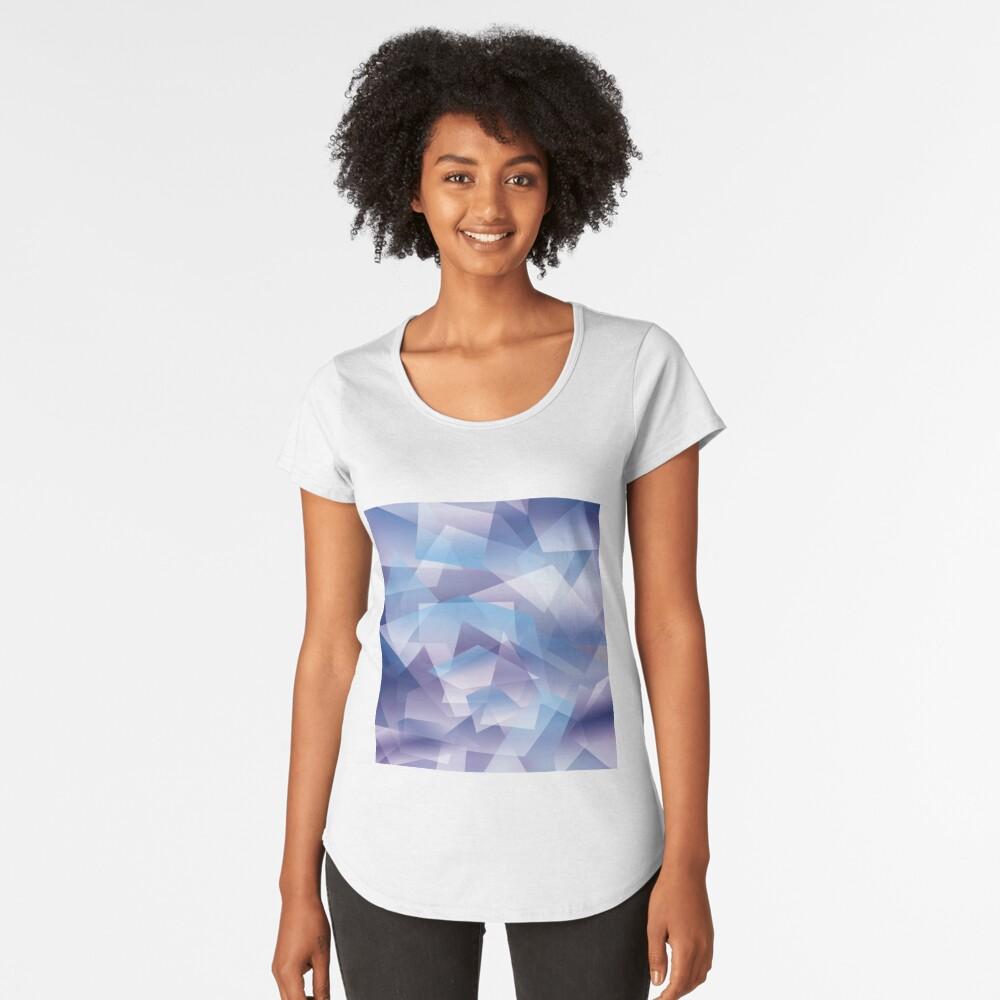 Abstract geometric pattern Camiseta premium de cuello ancho