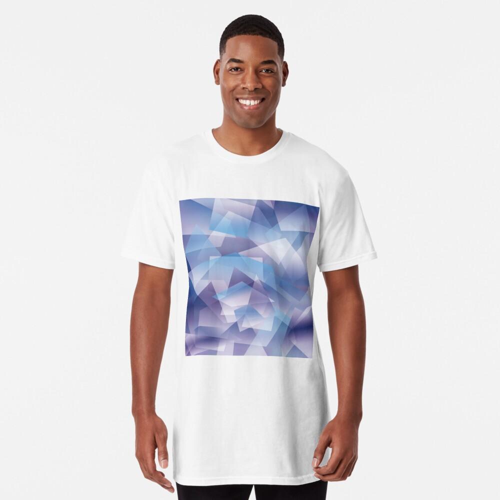 Abstract geometric pattern Camiseta larga