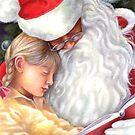 on santa's lap by Liesl Yvette Wilson
