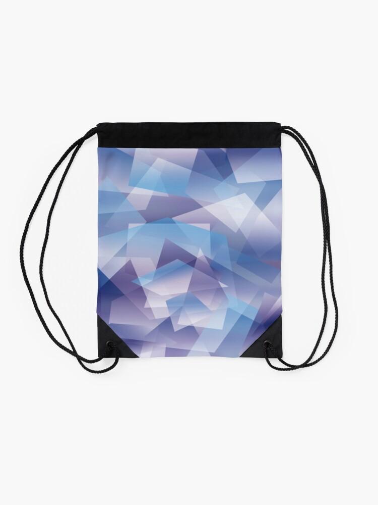Vista alternativa de Mochila saco Abstract geometric pattern