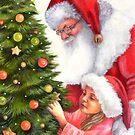 the Christmas tree by Liesl Yvette Wilson